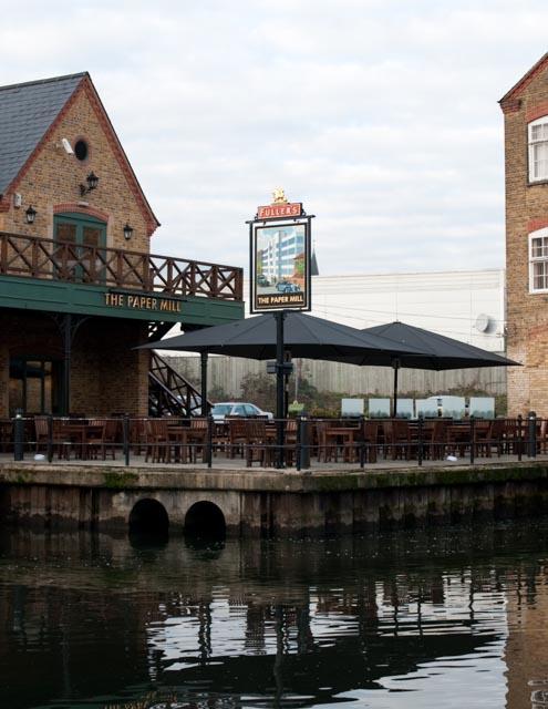 Paper mill pub