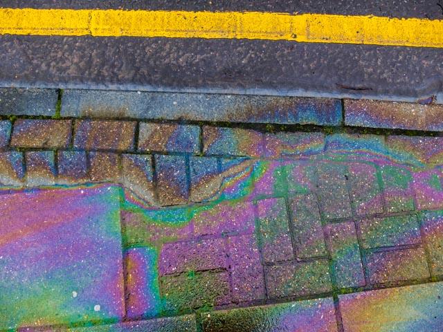 Petrol rainbow